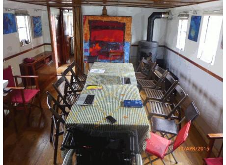 Près de Paris - Séminaires à partir de 460 € par jour sur le Baleau Aliénor