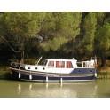 Casiquiare - Navigue en Vallée de Loire et Canaux - 10,30m x 3,55 x 1,05 - Couchettes 4+2